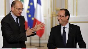 Enrico Letta e François Hollande