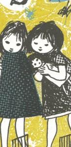 meninas e boneca