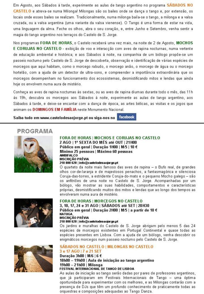 Newsletter Agosto - II