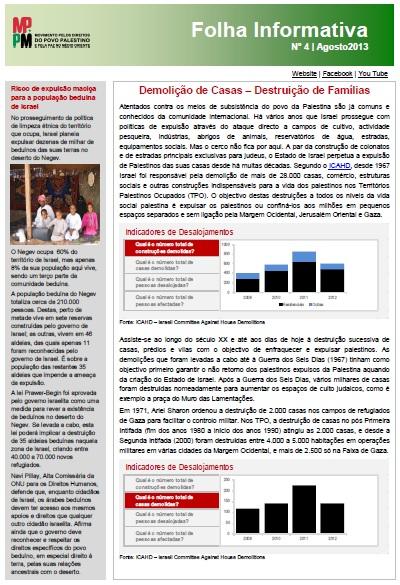 folha informativa n 4 - agosto 2013 - cone