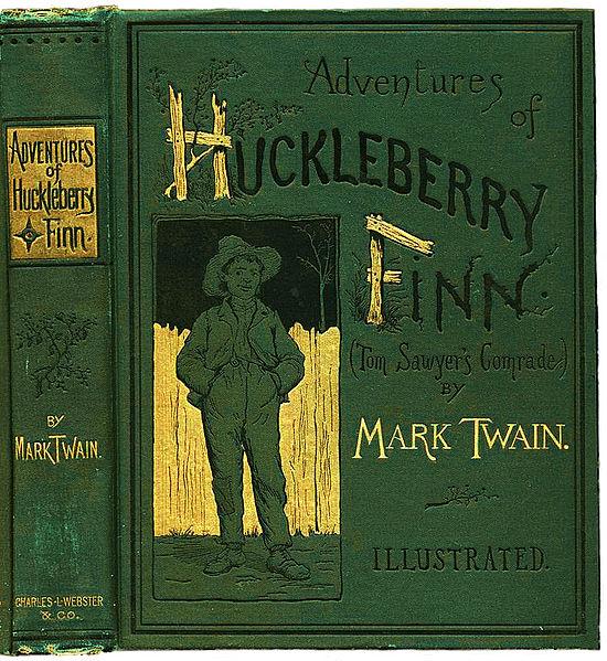 550px-Huckleberry_Finn_book