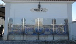 Azulejos de la estación de Estremoz