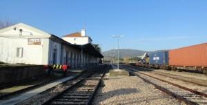Estación de Elvas.
