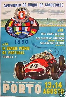 G.P.Portugal - 1960
