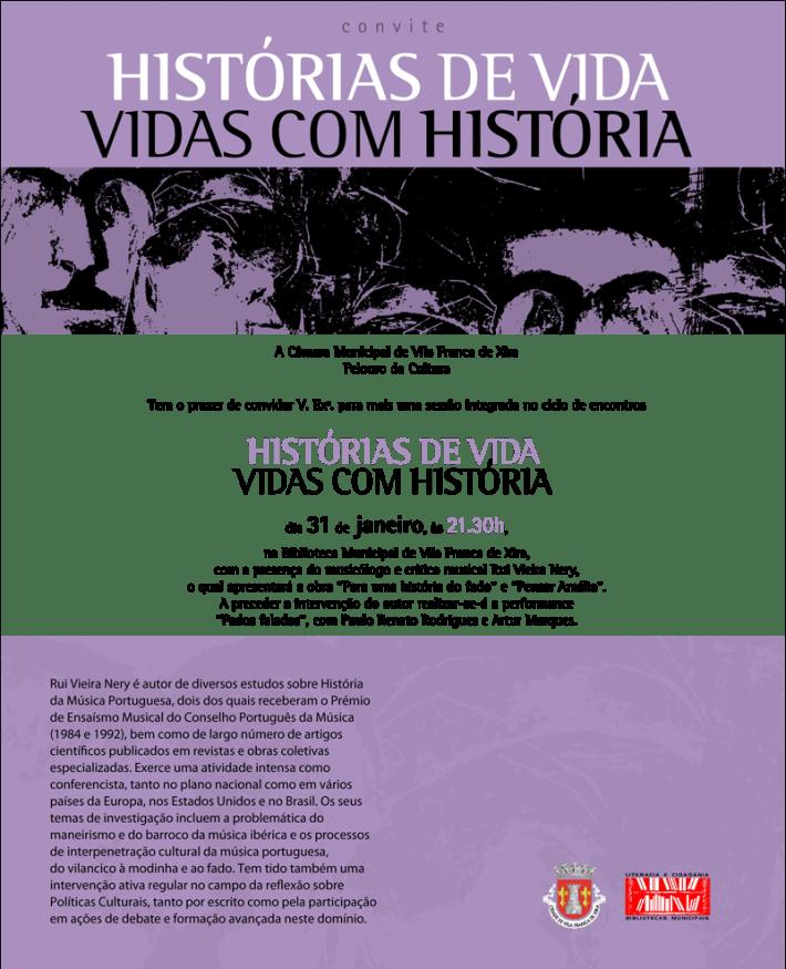 Histórias de Vida - Vidas com História