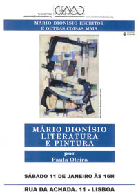 Mário Dionísio Literatura e Pintura