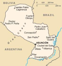 Paraguai Obrigado a Wikimedia Commons