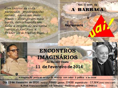 Encontro Imaginário - Carlos Lacerda e Hélder Câmara