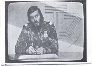 Duran Clemente en la TV el 25 de noviembre de 1975