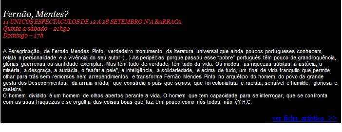 Fernão Mentes - XI