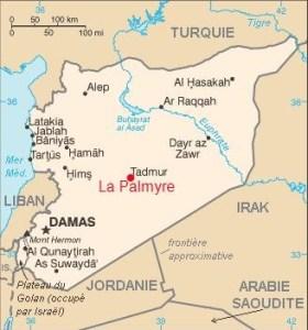 palmyre_Carte_Syrie