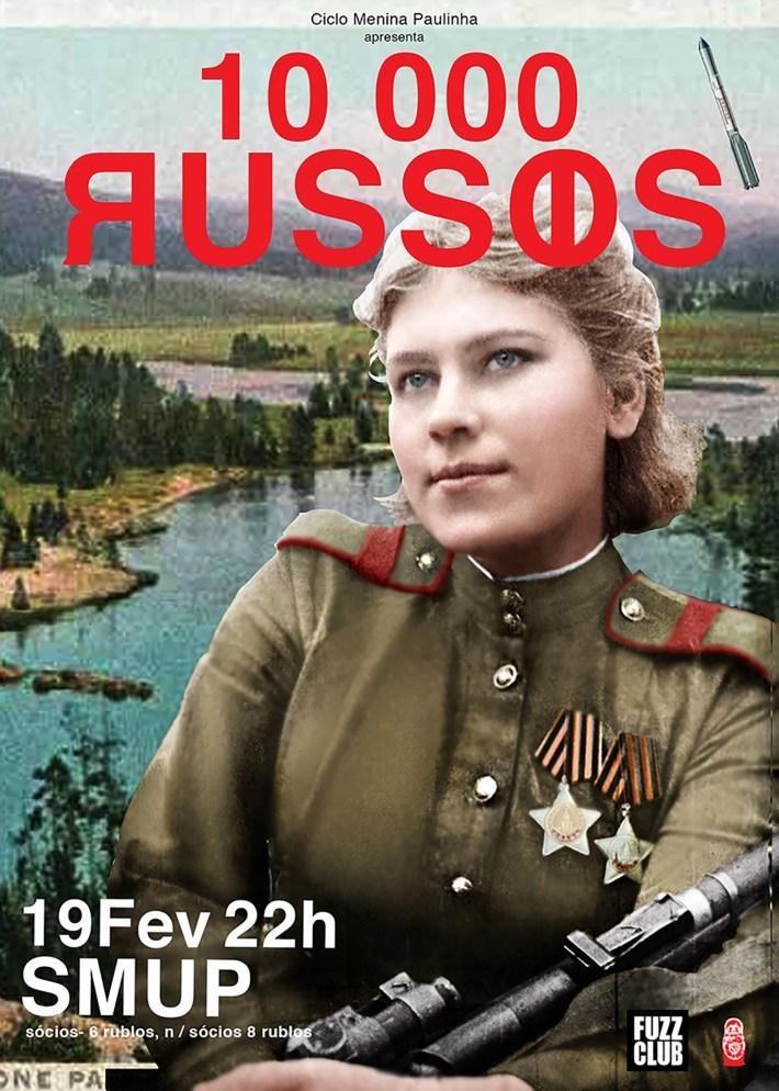 10 000 russos