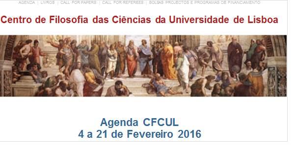 Agenda 4 a 21 de Fevereiro de 2016