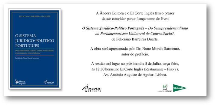 O Sistema Jurídico-Político Português