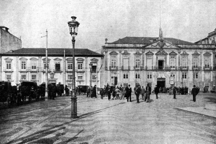 PALACETE DOS MONTEIRO MOREIRA PRAÇA DE D. PEDRO