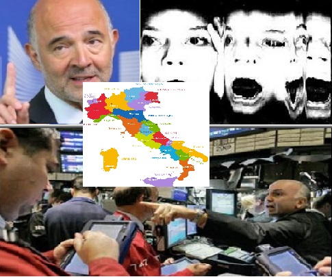 especuladores marcham s Roma