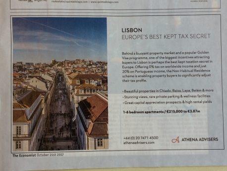 Portugal um novo paraiso fiscal