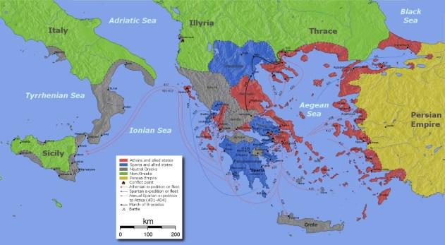 1 Olhemos para a realidade atual a partir de Esparta e de Atenas 7