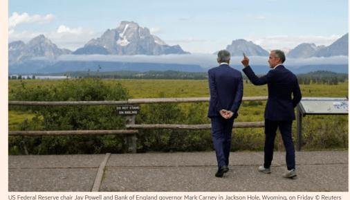 2 Banqueiros centrais repensam tudo em J Hole 1