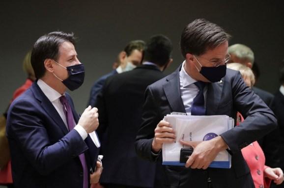 Cimeira UE 2 V Galasso Fundo de recuperação porque os Países Baixos não confiam na Itália 1