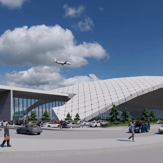 gautam buddha international airport terminal design 2