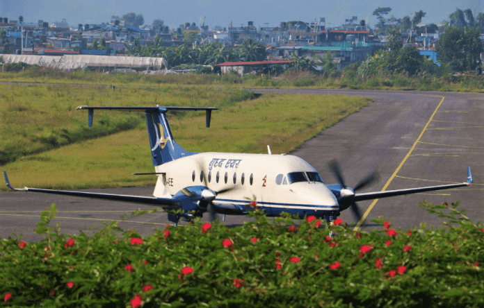 buddha air nepal beechcraft 1900d aviatech channel
