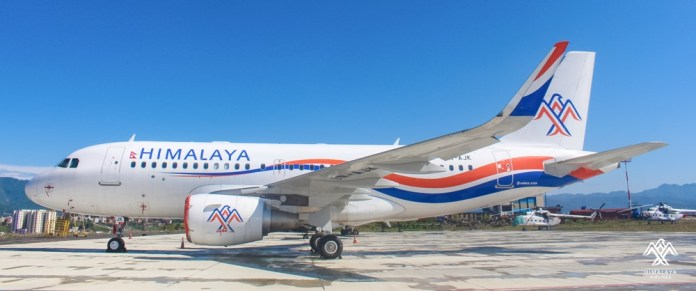 himalaya airlines airbus a319 aviatech channel