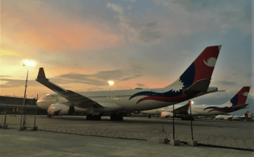 nepal airlines corporation aviatech channel