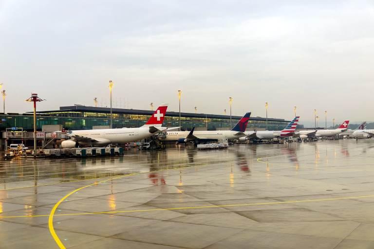 Züricher Passagierzahlen weiterhin auf niedrigem Niveau