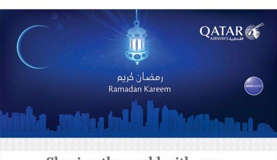 How Qatar Airways flight service calculates for Ramadan 8