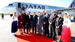 Qatar Airways touches down for the first time at Bosnia and Herzegovina's Sarajevo International Airport 19