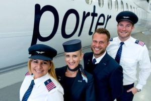 Fly pink with Porter Airlines 35