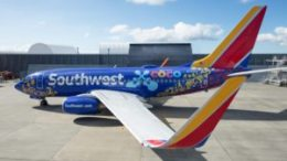 "Southwest Airlines unveils ""Coco""-themed Boeing 737-700 7"