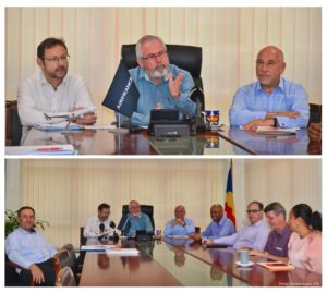 Seychelles authorities and Air France discuss coordinated approach 24