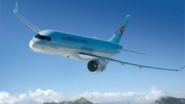 Korean Air receives first Bombardier C Series with Pratt & Whitney GTF engines 14