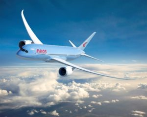 Boeing, Neos and AerCap celebrate delivery of airline's first 787 Dreamliner 22