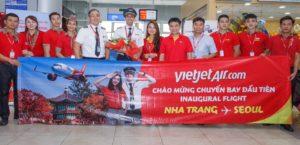 Nha Trang flight to  Seoul on Vietjet 1