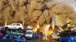 Enormous blaze threatens Dublin airport 16