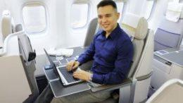 Air Astana completed broadband communication 42