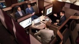 Qatar Airways brings Qsuite Business Class seat to Chicago 38