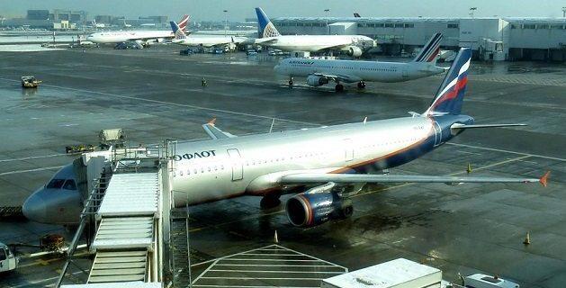 "Moscow calls Heathrow Aeroflot plane search ""provocation"" 8"