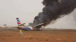 Wau Airport re-opens after Mega Aircompany plane crash 14