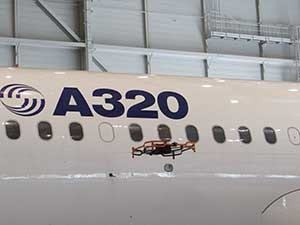 Airbus launches advanced indoor inspection drone