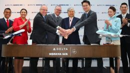 Delta Air Lines and Korean Air to launch world-class joint venture partnership 40