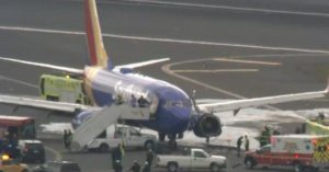 Southwest Airlines free-falling from the skies makes emergency landing in Philadelphia