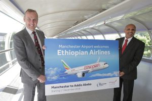 Manchester Airport secures Addis Ababa route with Ethiopian Airlines