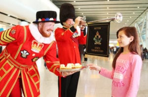 Royal Wedding – what it did do London Heathrow last month?
