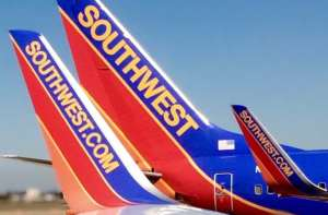 Increase for Southwest Airlines in June