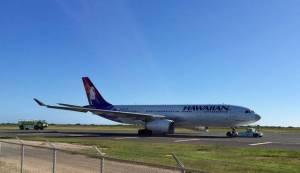 Honolulu – Sydney flight hydraulic System forced plane to turn around