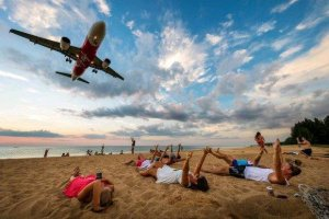 From fines to execution: Phuket tourists warned to think twice about 'runway selfies'